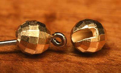 FLY-FISHING 58009 Вольфрамовые граненые головки с вырезом Faceted Slotted Tungsten Beads (фото, вид 1)