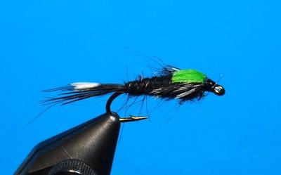 A.Jensen 14204 Мушка нимфа Black Martinez (фото, вид 1)