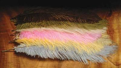 Hareline 53014 Перья страуса OSTRICH HERLS (фото, вид 1)