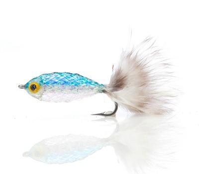 A.Jensen 15103 Мушка стример Twinkle Tube Fish Blue (фото, вид 1)