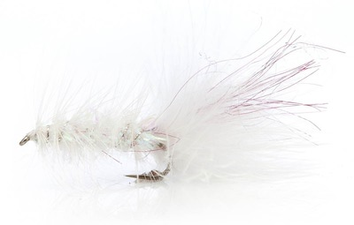 A.Jensen 15109 Мушка стример Flash Bugger White (фото, вид 1)