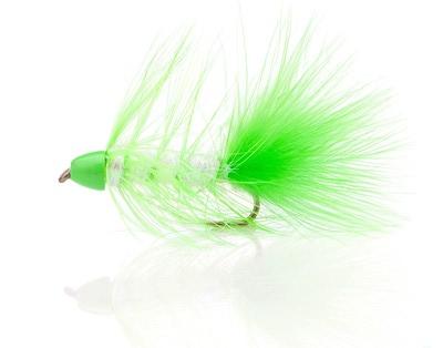 A.Jensen 15113 Мушка стример Ice Cone Chartreuse (фото, вид 1)