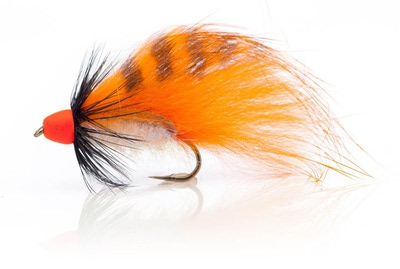 A.Jensen 15122 Мушка стример Zonker Cone Orange (фото, вид 1)