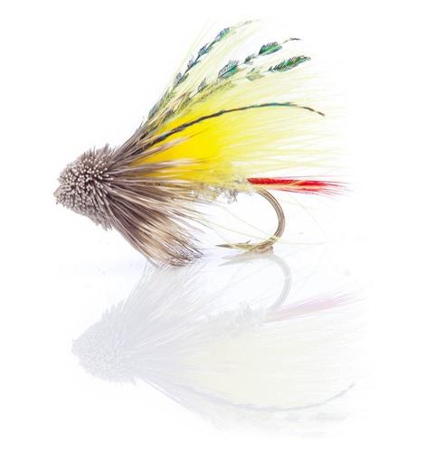 A.Jensen 15136 Мушка стример Muddler Marabou Yellow (фото, вид 1)