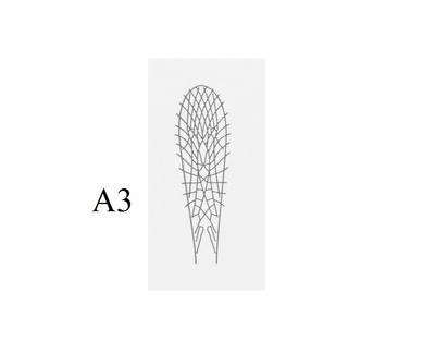 J:son&Co 58305 Заготовки для имитаций крылышек Realistic Wing Material for Stoneflies (фото, вид 2)
