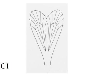 J:son&Co 58307 Заготовки для имитаций крылышек Realistic Wing Material For Caddis Adult (фото, вид 1)