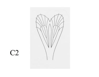 J:son&Co 58307 Заготовки для имитаций крылышек Realistic Wing Material For Caddis Adult (фото, вид 2)