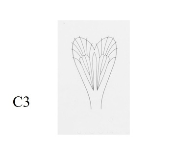 J:son&Co 58307 Заготовки для имитаций крылышек Realistic Wing Material For Caddis Adult (фото, вид 3)