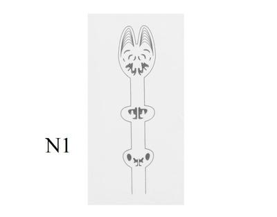 J:son&Co 58308 Заготовки для имитаций крылышек Realistic Wing Material For Mayfly Nymph (фото, вид 1)