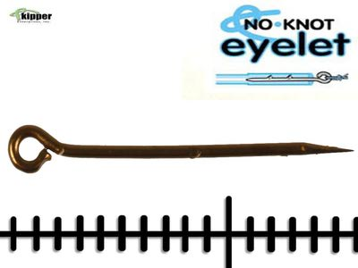 Kipper Enterprises, Inc. 10825 Конектор No-Knot Eyelet (фото, вид 1)