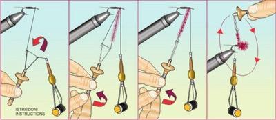STONFO™ 41458 Скручиватель Dubbing Twister (фото, вид 1)