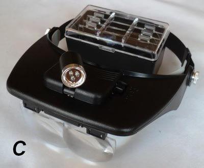 SFT-studio 41382 Увеличительные линзы с подсветкой Light Head Magnifying Glass (фото, вид 9)