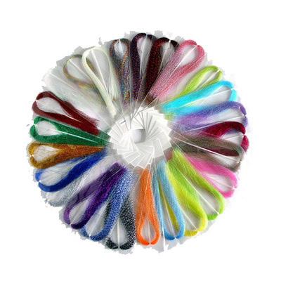 Akara 54013 Крученные блестящие волокна KRYSTAL FLASH (фото, вид 2)