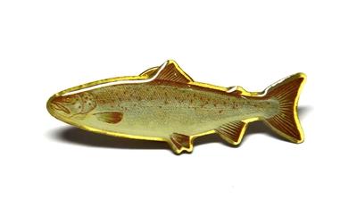 Pool 12 93064 Значок Pin Fish (фото, вид 3)
