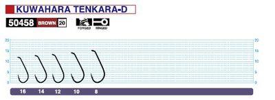 Owner 60121 Крючок одинарный 50458 Kuwahara Tenkara-D (фото, вид 1)