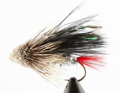 A.Jensen 15135 Мушка стример Muddler Marabou Black (фото, вид 2)