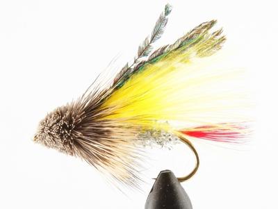 A.Jensen 15136 Мушка стример Muddler Marabou Yellow (фото, вид 2)