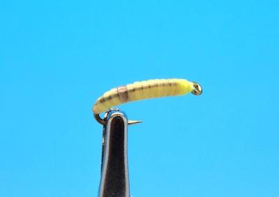 Mikkus & Caddis 14227 Мушка имитация опарыша Screwworm (фото, вид 1)