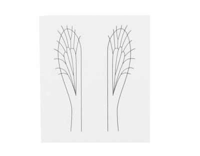 J:son&Co 58310 Заготовки для имитаций крылышек Realistic Wing Material For Caddis Pupa / Wasp / Ant / Hopper (фото, вид 6)