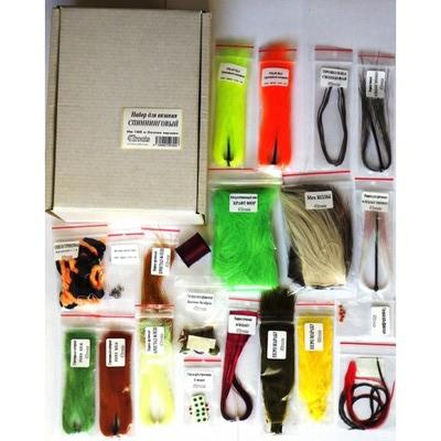 4Trouts 59513 Набор материалов для вязания приманок Spinning and Jig Set #1 (фото, вид 1)