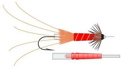 Eumer 58040 Трубочки для мушек Crayfish Tube (фото, вид 5)