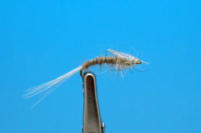 Artflies 11199 Сухая мушка Burnt Wing Spinner Gray (фото, вид 1)