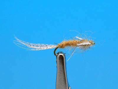 Artflies 11200 Сухая мушка Burnt Wing Spinner Sulfur (фото, вид 1)