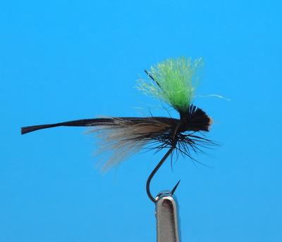 Pacific Fly Group 11220 Сухая мушка Keel Style Wonderwing Stonefly Barbless (фото, вид 1)