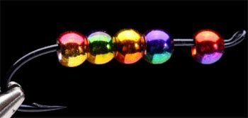 FLY-FISHING 58069 Латунные головки радужной окраски Rainbow Brass Beads (фото, вид 1)