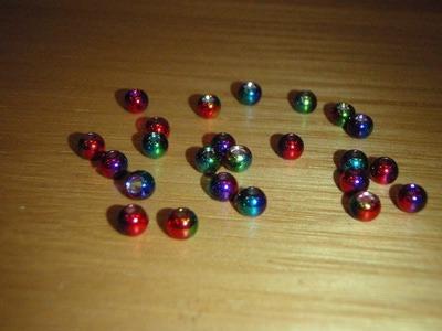 FLY-FISHING 58069 Латунные головки радужной окраски Rainbow Brass Beads (фото, вид 2)