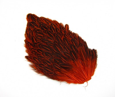 Hareline 53266 Перья со спины курицы India Hen Back (фото, вид 3)