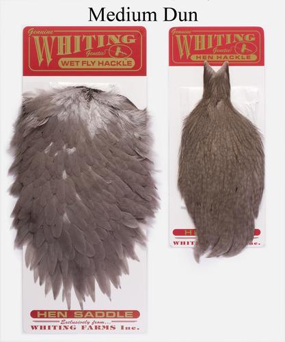 WHITING™ 53273 Набор перьев Whiting Hen Capes and Saddle Set (фото, вид 2)