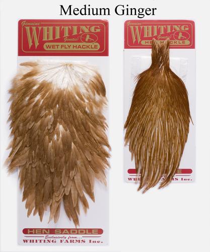 WHITING™ 53273 Набор перьев Whiting Hen Capes and Saddle Set (фото, вид 3)