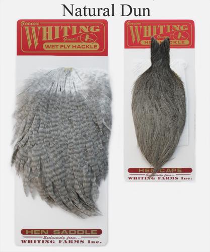 WHITING™ 53273 Набор перьев Whiting Hen Capes and Saddle Set (фото, вид 4)