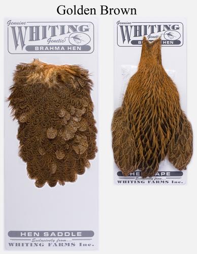 WHITING™ 53274 Набор перьев Brahma Hen Cape and Saddle Set (фото, вид 1)