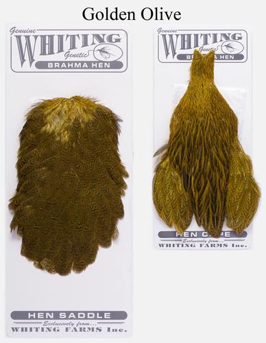 WHITING™ 53274 Набор перьев Brahma Hen Cape and Saddle Set (фото, вид 2)
