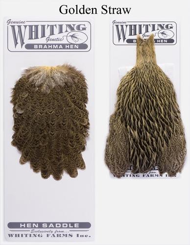 WHITING™ 53274 Набор перьев Brahma Hen Cape and Saddle Set (фото, вид 3)