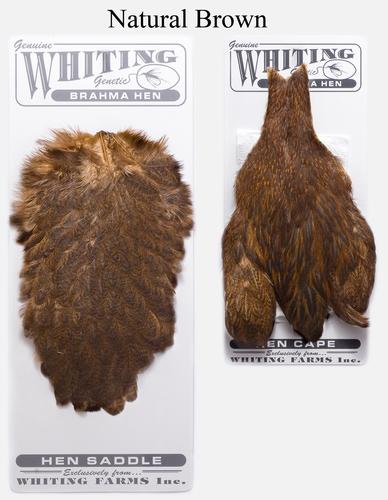 WHITING™ 53274 Набор перьев Brahma Hen Cape and Saddle Set (фото, вид 4)