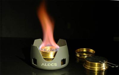 Alocs 81421 Набор со спиртовой горелкой Spirit Burner+ (фото, вид 2)