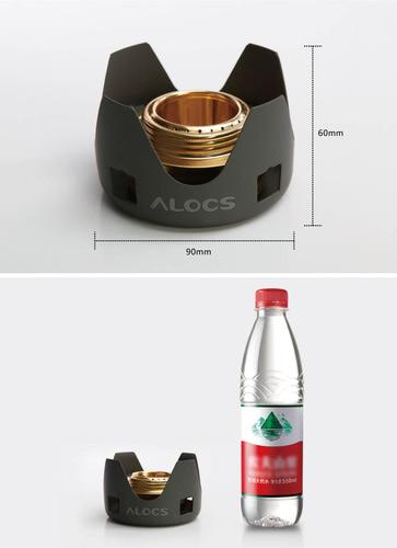 Alocs 81421 Набор со спиртовой горелкой Spirit Burner+ (фото, вид 3)
