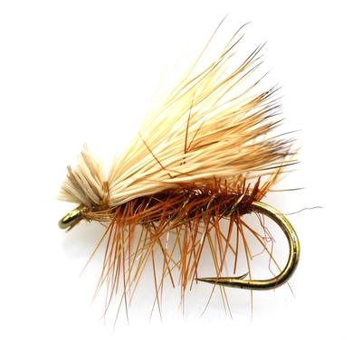 Crystal River 11224 Сухая мушка Elk Hair Caddis (фото, вид 1)