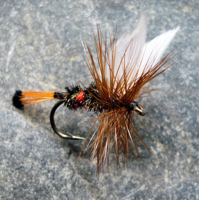 Crystal River 11226 Сухая мушка Royal Coachman (фото, вид 1)