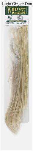 WHITING™ 53036 Половинки петушиных седел Hebert/Miner 1/2 Saddle Silver (фото, вид 2)