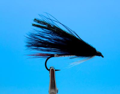 Crystal River 15372 Мушка стример Black Marabou (фото, вид 1)