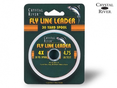 Crystal River 10594 Поводковый материал Fly Line Leader (фото, вид 1)