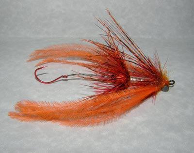 Daiichi 60384 Крючок одинарный 2553 Octopus Intruder Trailer Hook Salmon Red (фото, вид 2)