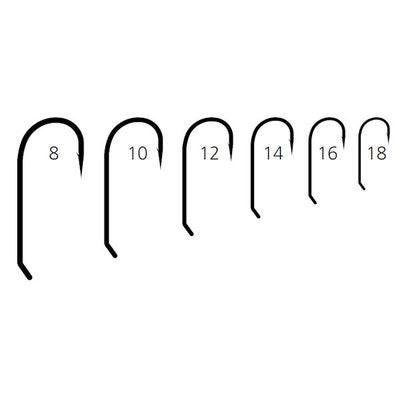 Mustad 60142 Крючок одинарный для сухих мушек 94833 Classic Dry Fly Hook (фото, вид 1)
