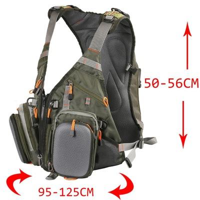 Maxcatch 70301 Рюкзак-разгрузка Fly Fishing Backpack (фото, вид 2)