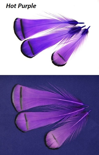 SFT-studio 53013 Фазана алмазного шейные перья LADY AMHERST PHEASANT TIPPETS (фото, вид 5)