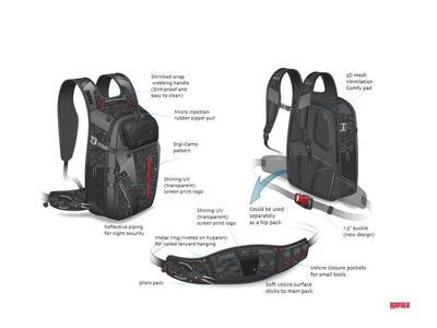 Rapala 82092 Рюкзак URBAN Backpack (фото, вид 2)